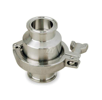 Stainless Steel Sanitary Clamp Non return Check Valve