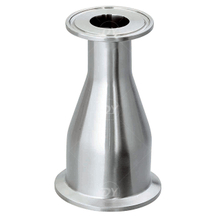 Sanitary Stainless Steel Concentric Reducer with Clamped Ends