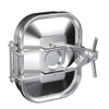 Sanitary Stainless Steel Rectangular Wheel Handle Manway Cover