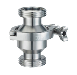 Stainless Steel Union Thread Sanitary Check Valve