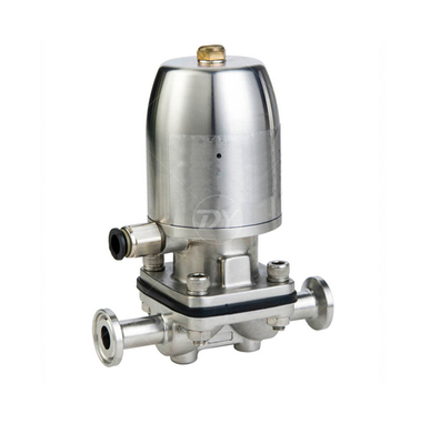 Sanitary Stainless Steel Diaphragm Valve with Pneumatic actutaor
