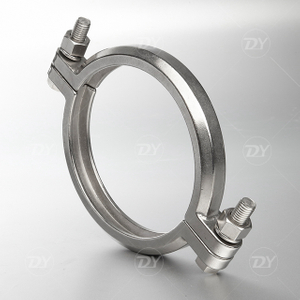 Sanitary High Pressure Double Bolts Clamp