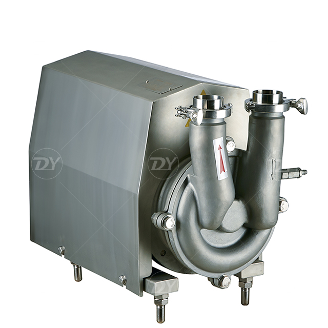 Sanitary Stainless Steel CIP Self Priming Pump